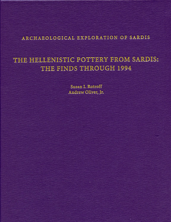 The Hellenistic Pottery from Sardis: The Finds Through 1994