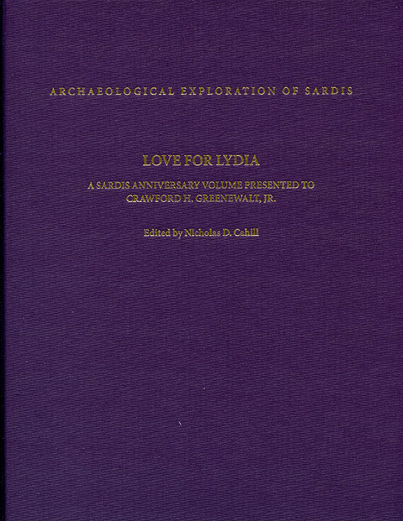 R4: Love for Lydia: A Sardis Anniversary Volume Presented to Crawford H. Greenewalt, Jr.